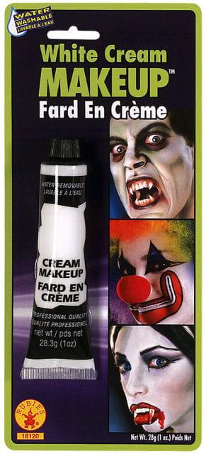 Weißes Creme Make Up in der Tube