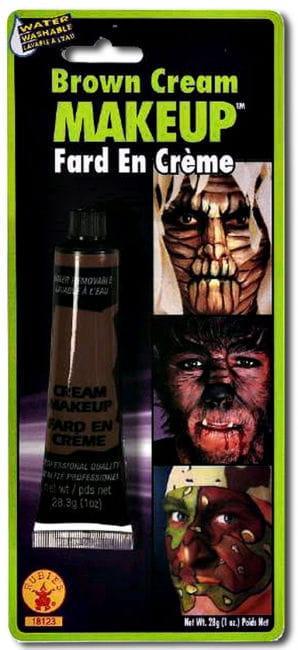 Creme Make Up Braun in der Tube
