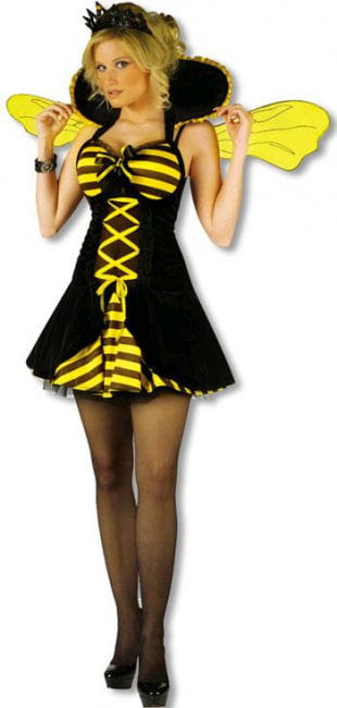 Bienenkönigin Kostüm SM