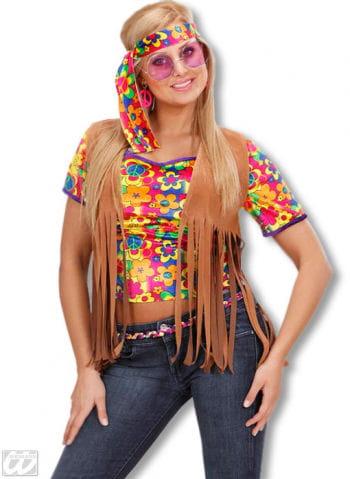 Hippie Fransenweste Gr. M