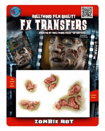 Zombie Wunden in 3D Optik