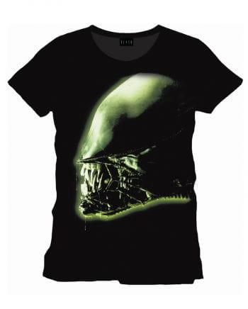 Alien Kopf Film T-Shirt