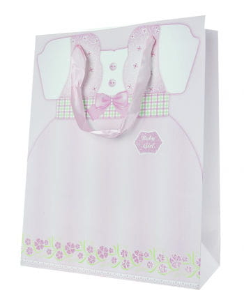 Baby Girl Geschenktasche mit Kleidchen
