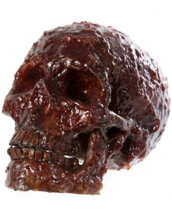 Blutiger Realistischer Totenkopf