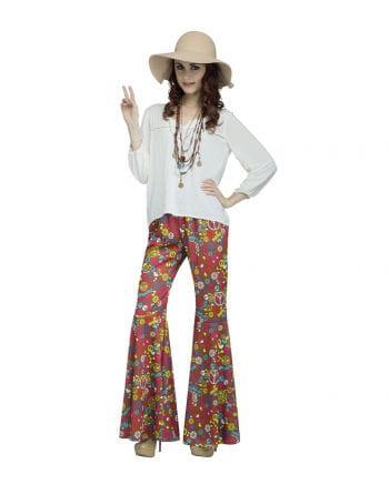 Groovy Hippie Schlaghose Peace