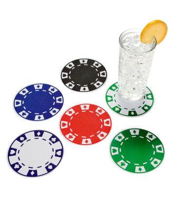 Runde Casino Untersetzer