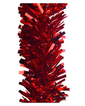 Rote Deko Folien-Schnitt-Girlande
