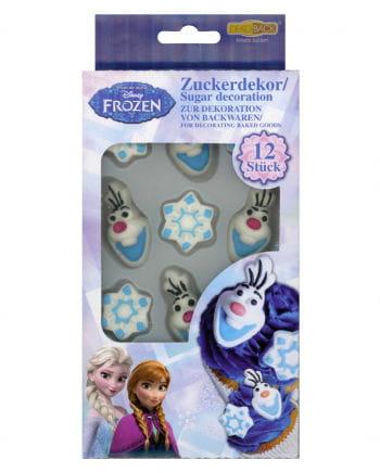 Olaf Zuckerdekor Frozen 12 St.