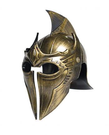 Goldener Elbenkrieger Helm