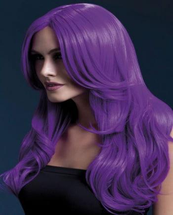 Khloe Damen Perücke violett