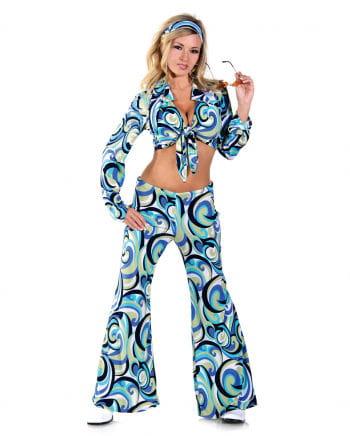Funky Hippie Kostüm Small