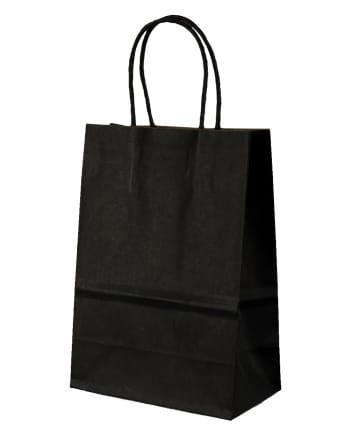 Schwarze Geschenktasche klein