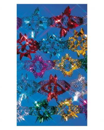Bunte Glitter-Foliengirlande