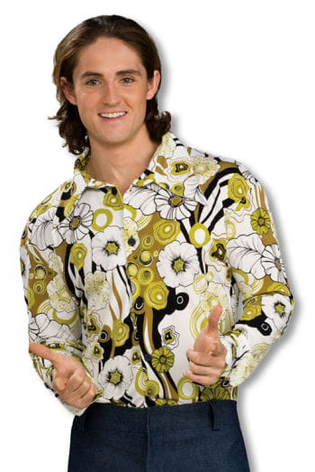 Groovy Hippie Hemd grün