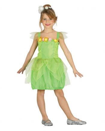 Grüne Elfe Kinderkostüm