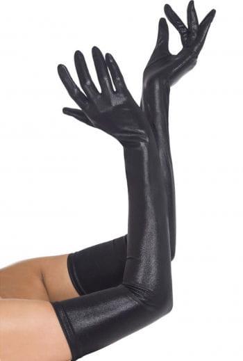 Glänzende Damenhandschuhe