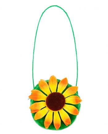 Sonnenblumen Handtasche für Fasching