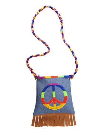 Kostümzubehör Hippie Tasche