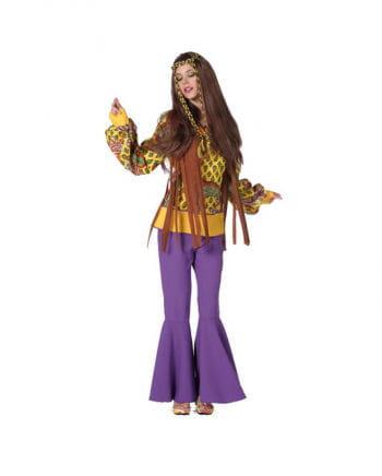 Twiggy Hippie Damenbluse Gelb