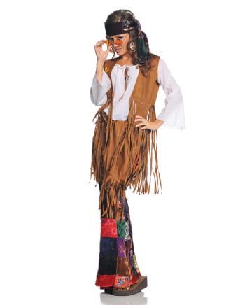 Hippie Woodstock Damenkostüm