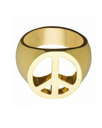 Hippie Ring Peace & Love