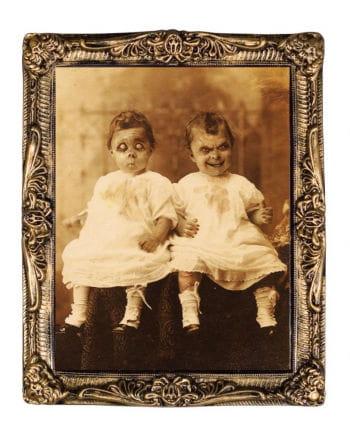 Effektbild Horror Zwillinge 38 x 51 cm