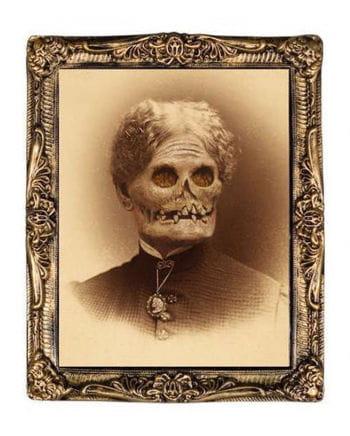 Effektbild Zombie Großmutter 38 x 51 cm
