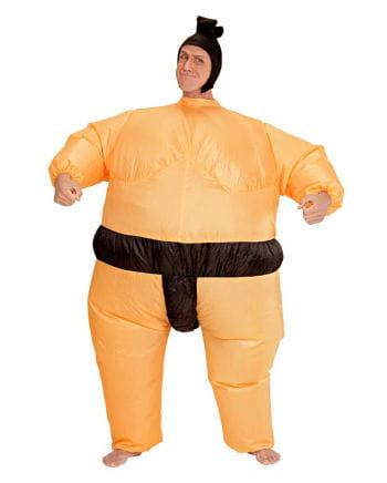 Aufblasbares Sumoringer Kostüm