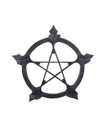 Pentagramm Teelichthalter