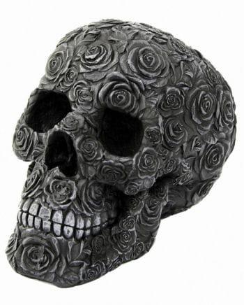 Totenkopf Black Rose Death