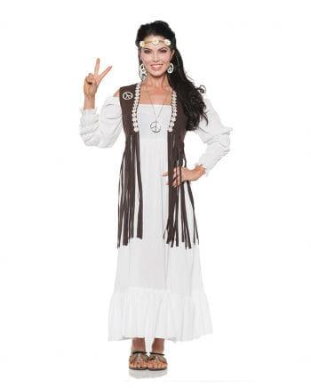 Hippie Kostüm Kleid mit Fransen