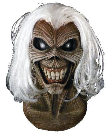 Iron Maiden Killers Maske mit Haaren