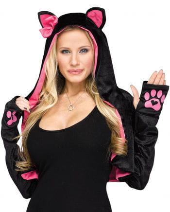 Bolero Hoodie im Katzen Style