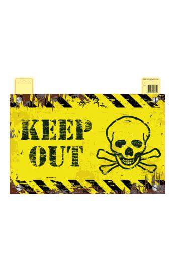 Keep Out Warnschild