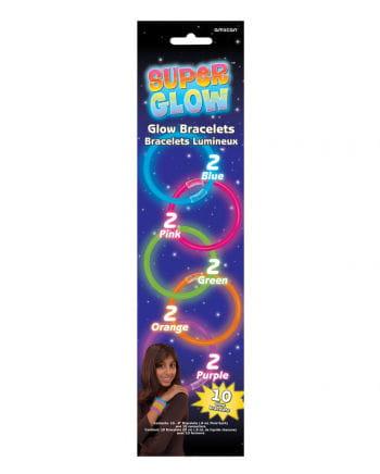 Leuchtstab Armbänder 10 St.