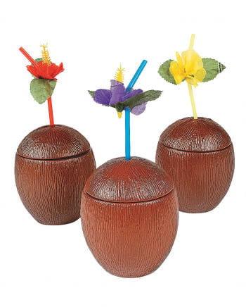 Coconut Cocktail Becher mit Deckel