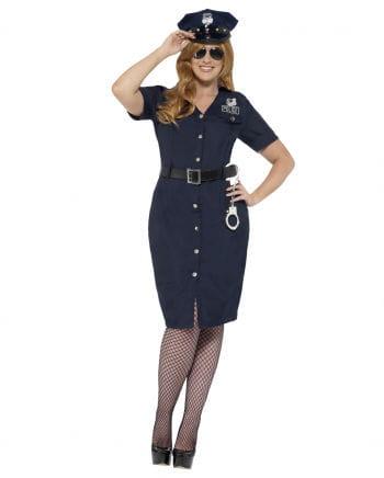 Kurvige Polizistin Plus Size Kleid