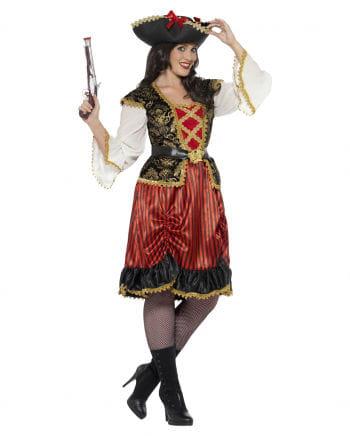 Kurvige Piraten-Braut Plus Size Kleid
