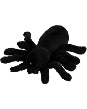 Schwarze Plüsch Spinne 18cm