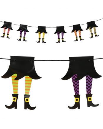 Witzige Hexen Girlande 210cm