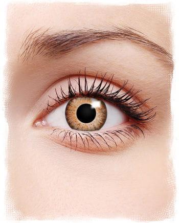Kontaktlinsen Manga orange/brown