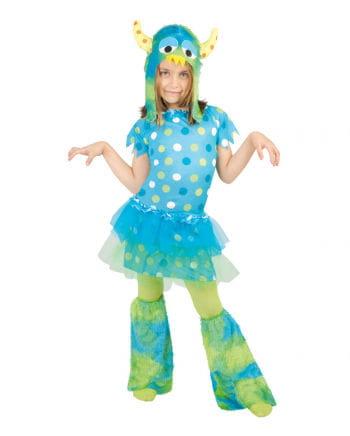 Monster Girl Verkleidung Blau