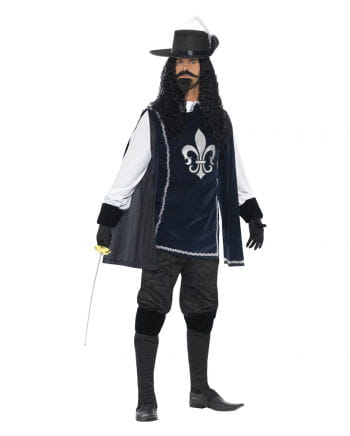 Musketier Kostüm plus Hut