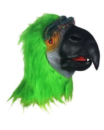 Papagei Maske