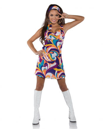 Hippie Minikleid Peace