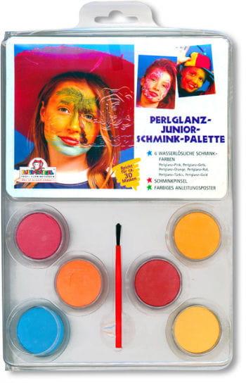 Perlglanz Junior Schminkfarben Set