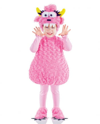 Rosa Monster Kinderkostüm