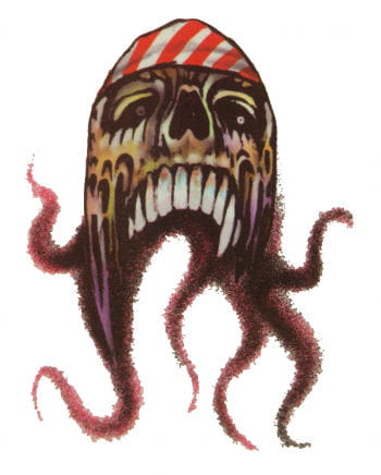 Piraten Tattoo Oktopus