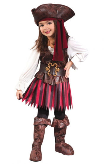 Kleine Piratin Kinderkostüm