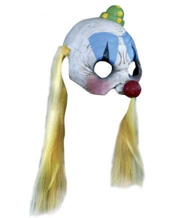 Pogo der Clown Halbmaske